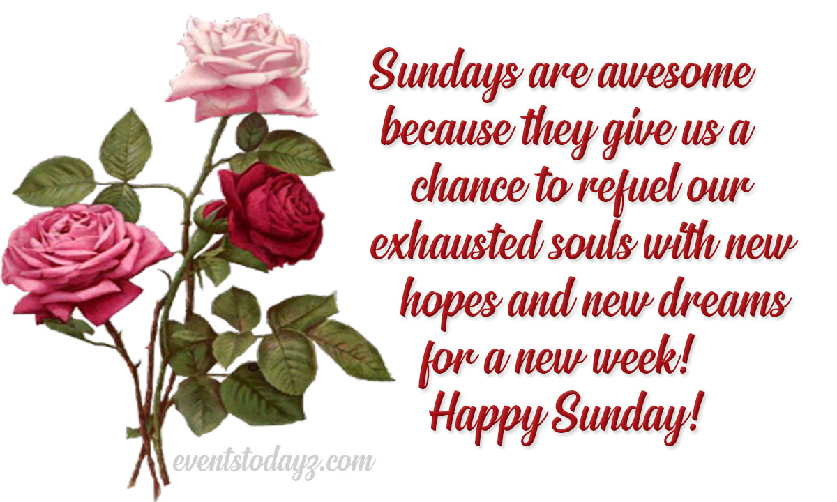 Sunday Morning Quotes & Messages Images   Happy Sunday Wishes